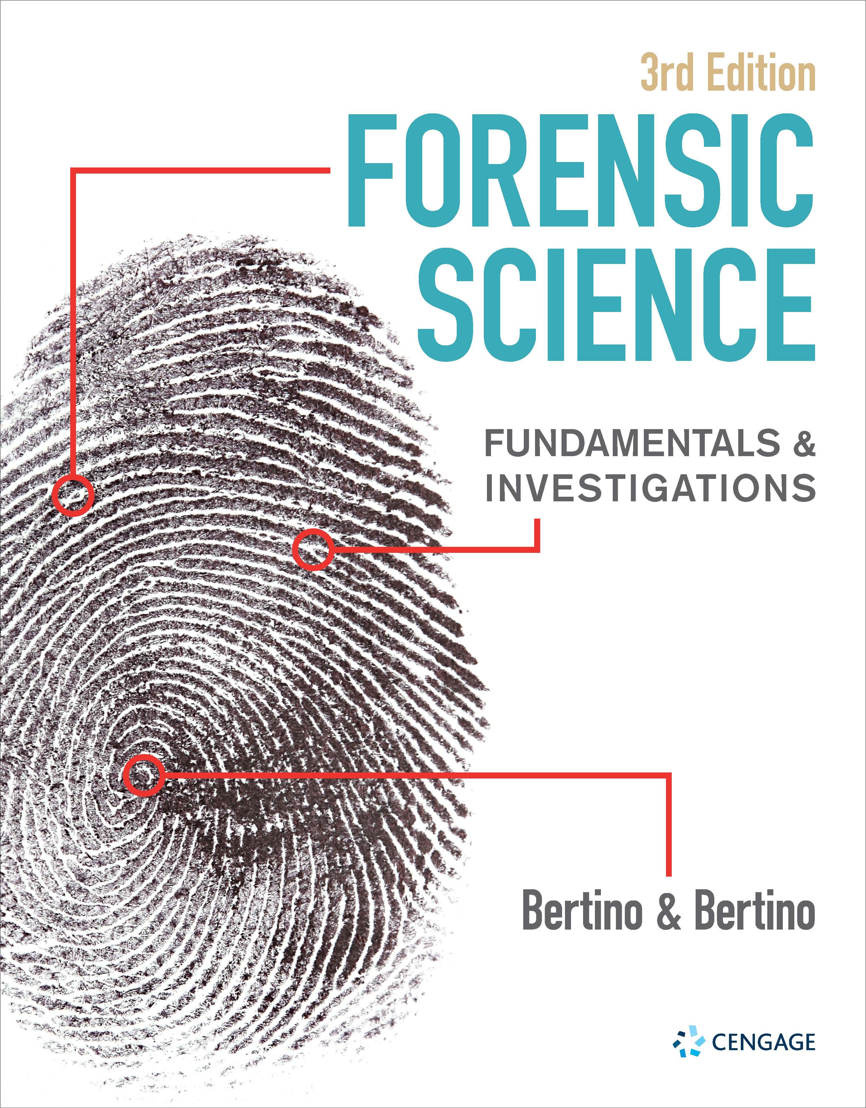 Bertino Forensics Textbook Information